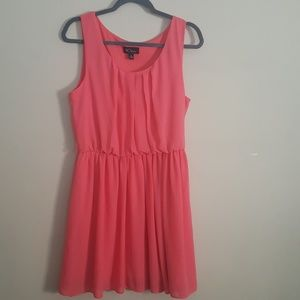BCX coral sleeveless dress size XL